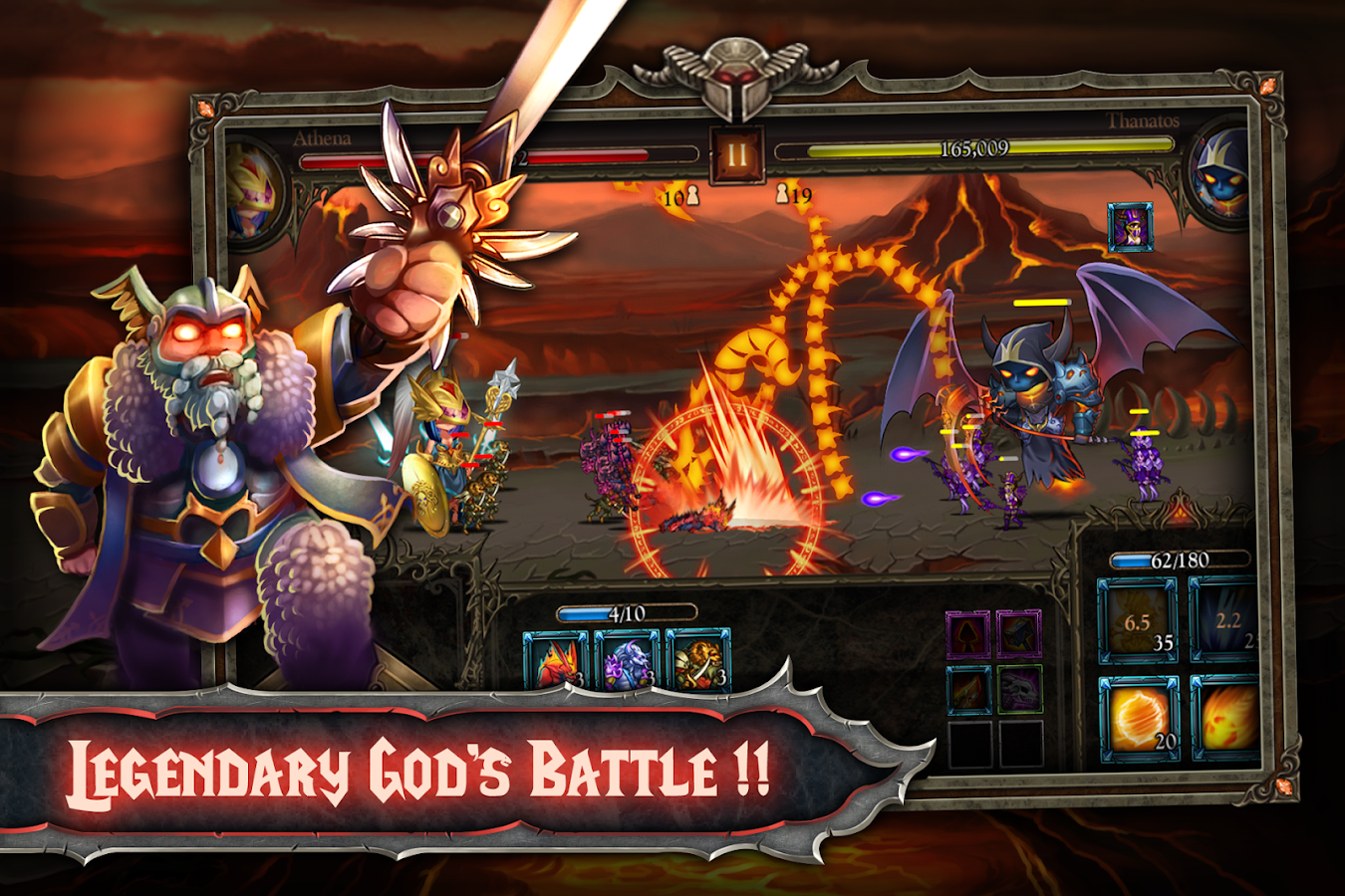 Epic Heroes War Gods Battle Android Apps On Google Play