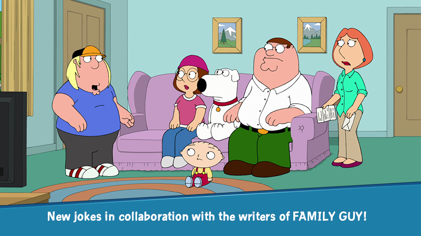 Screenshots of Family Guy The Quest for Stuff for iPhone
