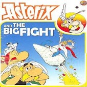 Comic Asterix The Big Fight