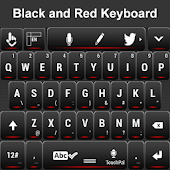 Black and Red Keyboard