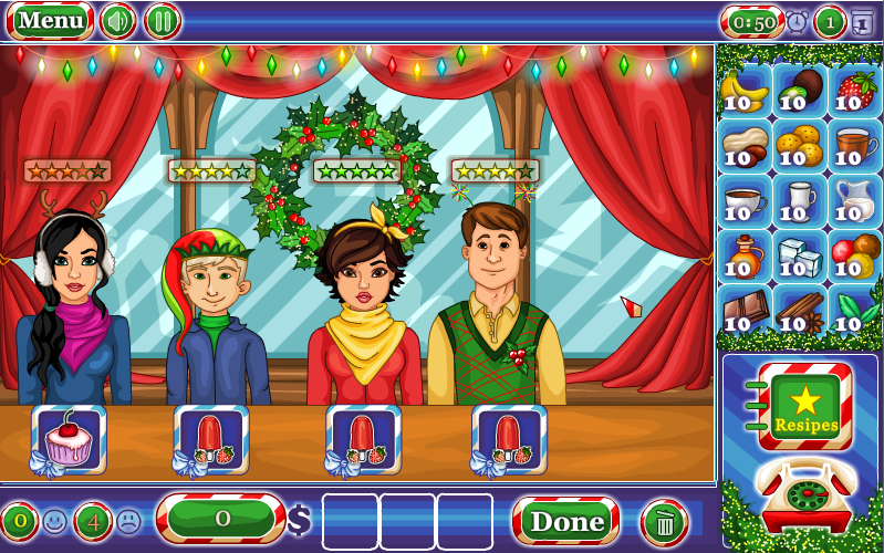 Frozen Restaurant- screenshot