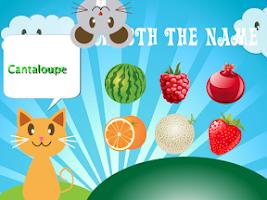 Screenshot of QCat - Toddler's game: Fruit