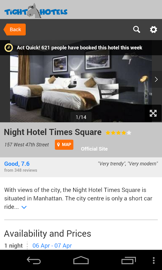 Tight Ass Hotels - screenshot