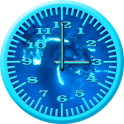 Whale Humpback 4 Analog Clock icon