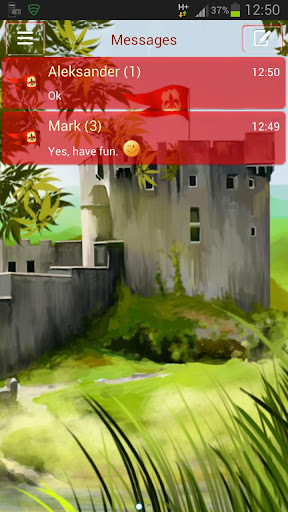 GO短信主題城堡