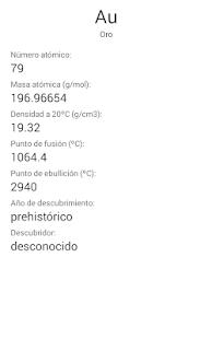 Tabla peridica espaol apps on google play screenshot image urtaz Choice Image