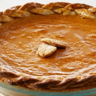 Anna Olson's Pumpkin Pie