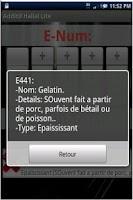 Screenshot of E-Halal Lite