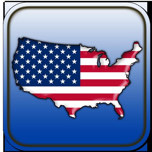 Map of USA 遊戲 App LOGO-硬是要APP