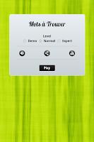 Screenshot of Mots à Trouver