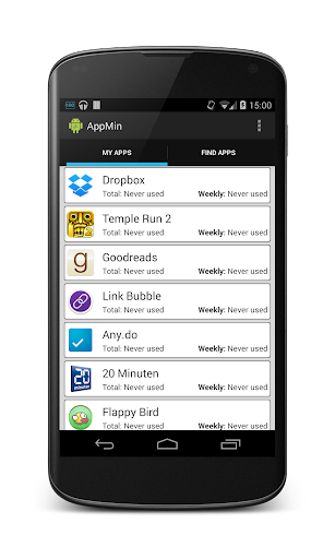 AppMin - The App Administrator