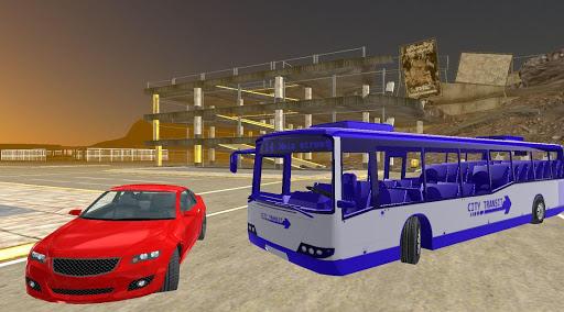 公車駕駛模擬器的3D