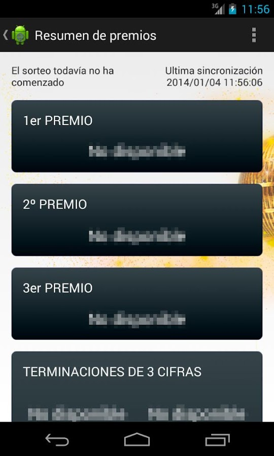 Loteria del niño 2014 - screenshot