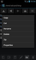Screenshot of Explorer+ File Manager Pro