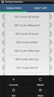 Screenshot of Holy Quran - Idrees Abkar