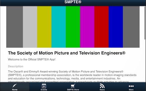SMPTE® - screenshot thumbnail