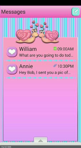 LoveBugs GO SMS THEME