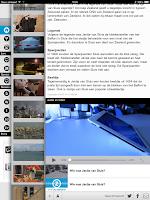 Screenshot of Omroep Zeeland tablet