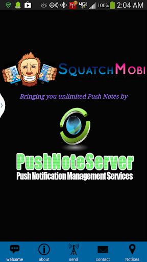 SquatchMobi Push Notifications