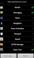 Screenshot of App Locker Lite