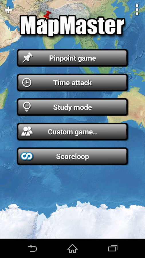 MapMaster - Geography game - screenshot