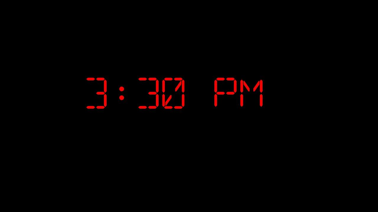 Clock Screensaver - screenshot
