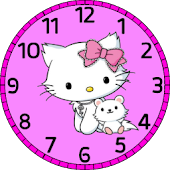 Hello Kitty 2013 clock