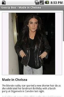 Chelsea Gossip Box - screenshot thumbnail