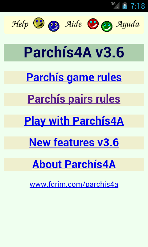 Parchís4A - screenshot
