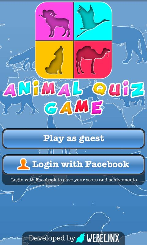 Animal Quiz Game for Kids- screenshot