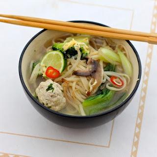Thai-Style Pork Ball Noodles
