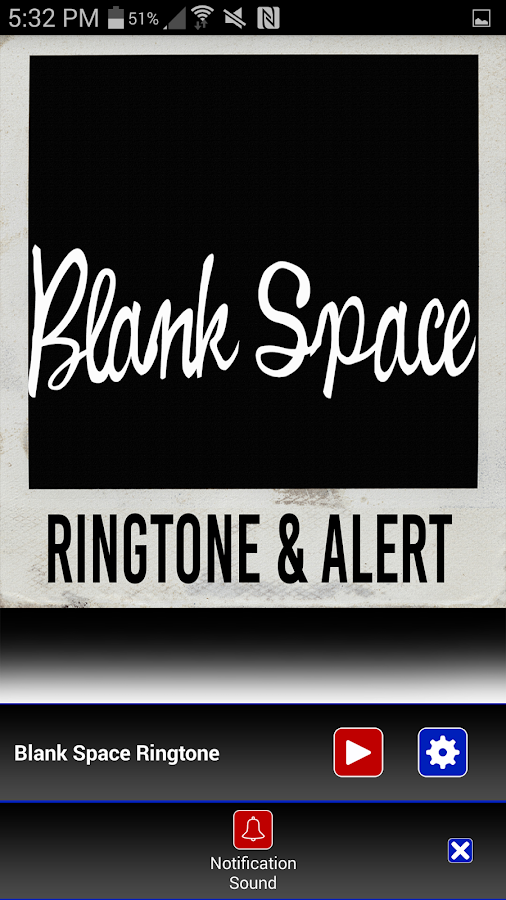 Blank Space Ringtone & Alert - Android Apps on Google Play