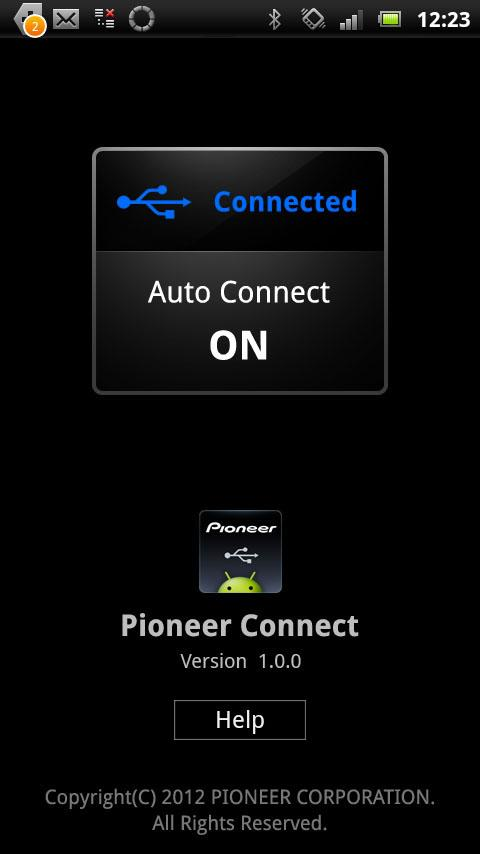 Pioneer Connect- screenshot