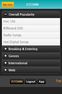 Billboard Charts, Music Songs - screenshot thumbnail