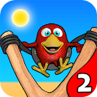 Птица Мини-гольф 2 - Пляж Fun icon