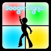 Boogie Lights White Tile Disco