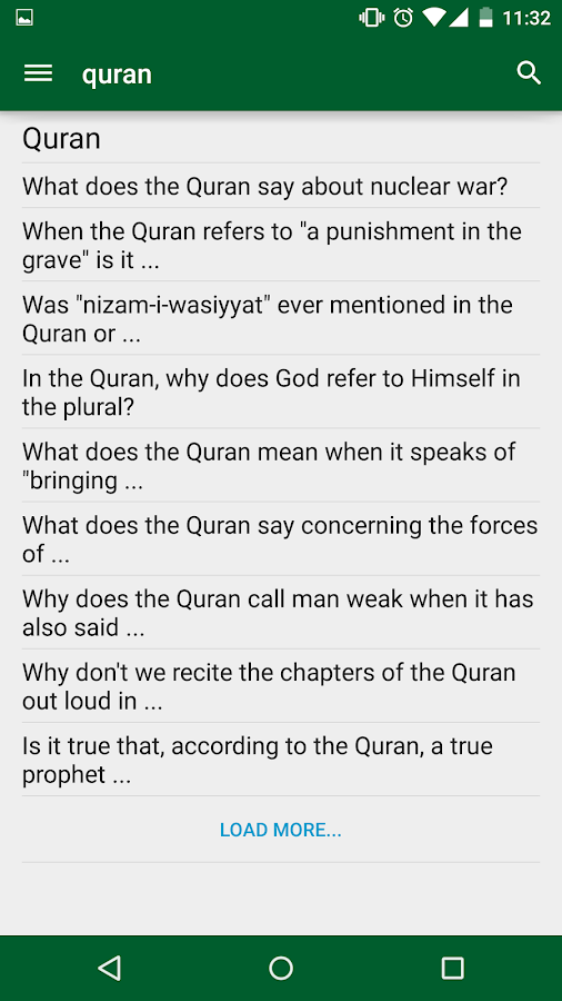 Ask Islam- screenshot