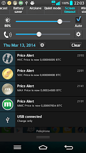 HeavyCoin Price Widget (HVC)- screenshot thumbnail