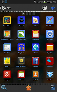 Go Launcher Ex Deluxe Theme - screenshot thumbnail