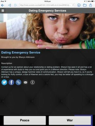 Dating Emergency Services