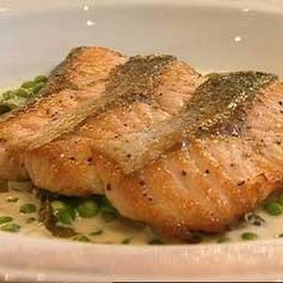 Escalopes Of Salmon With Sorrel Sauce
