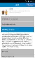 Screenshot of van alcohol tot xtc