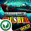 Submarine Crusher Gold logo