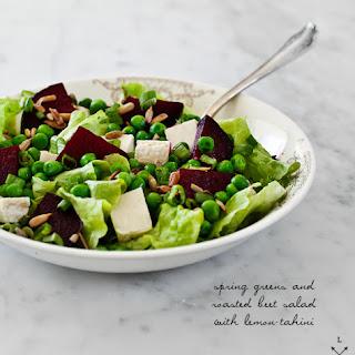 Beet Salad with Lemon Tahini