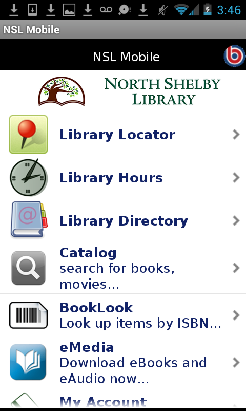 North Shelby Library On The Go- screenshot