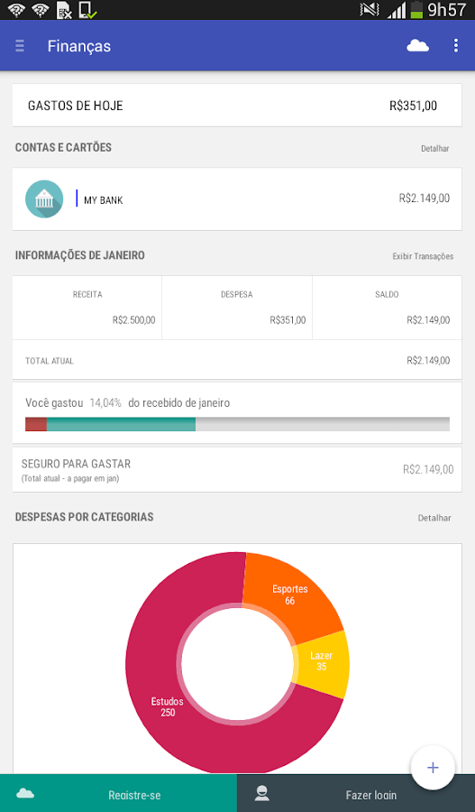 Personal  Finances - screenshot
