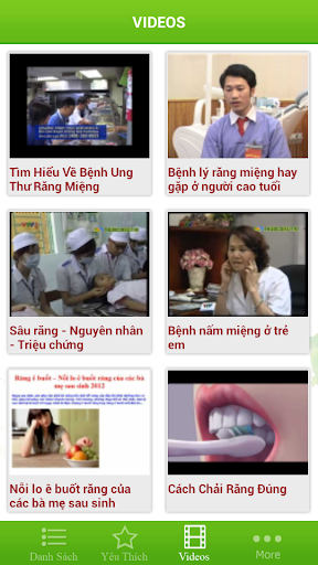 【免費健康App】Benh Ve Rang - Mieng-APP點子
