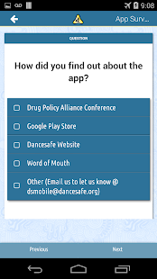 DanceSafe Mobile - screenshot thumbnail