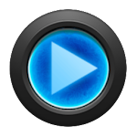 Mad Jelly Blue Poweramp Skin v1.4
