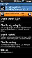 Screenshot of Tegrak Kernel